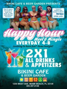 Bikini Happy Hour