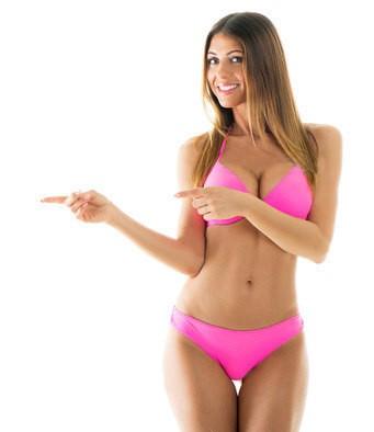 Sexy Bikini Hostel Girl